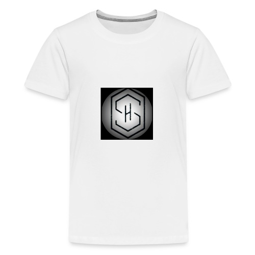 It's a s.h clothing brand which includes t shirts - Teenage Premium T-Shirt