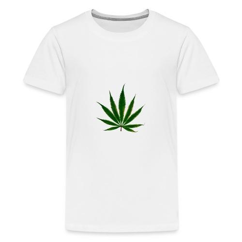 cannabis leaf - T-shirt Premium Ado
