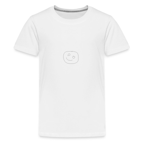 Smiley Face - Teenager Premium T-Shirt