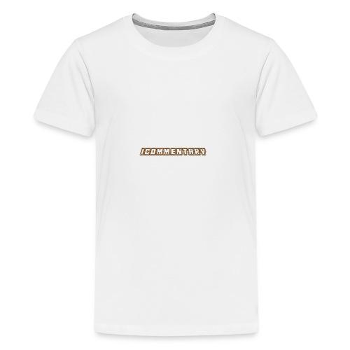 iCommentary - Teenage Premium T-Shirt