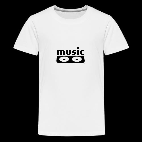 consola dj - Camiseta premium adolescente