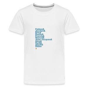 OM 1993-2018 | 25 ans: A JAMAIS LES PREMIERS - T-shirt Premium Ado