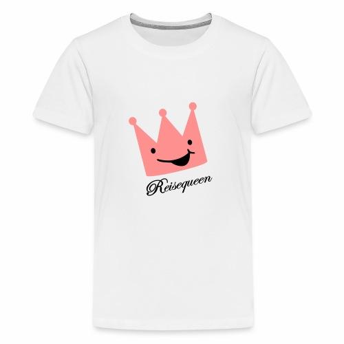 Krone reisequeen - Teenager Premium T-Shirt