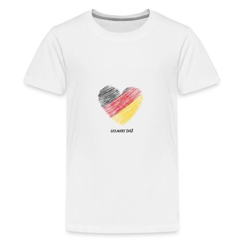 Fußball WM – Deutschland-Shirt - Teenager Premium T-Shirt