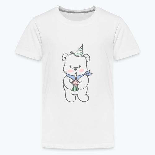 Geburtstagsbär - Teenager Premium T-Shirt
