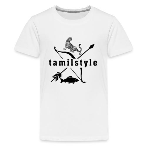 tamilstyle - Teenager Premium T-Shirt