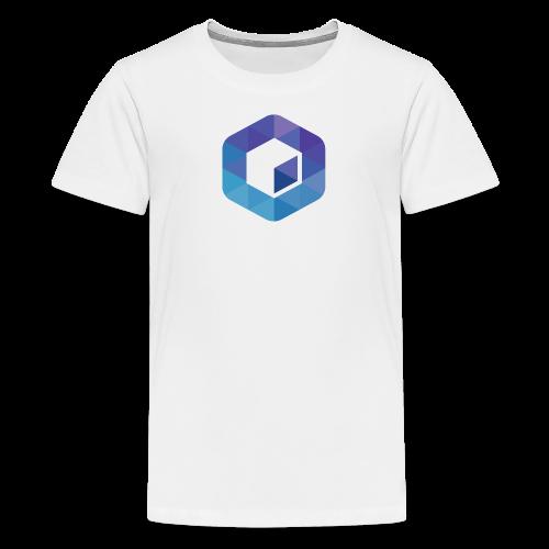 Neblio - Next Gen Enterprise Blockchain Solution - Teenage Premium T-Shirt