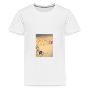 taycarz bright - Teenage Premium T-Shirt