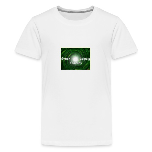 green Leipzig therapy - Teenager Premium T-Shirt