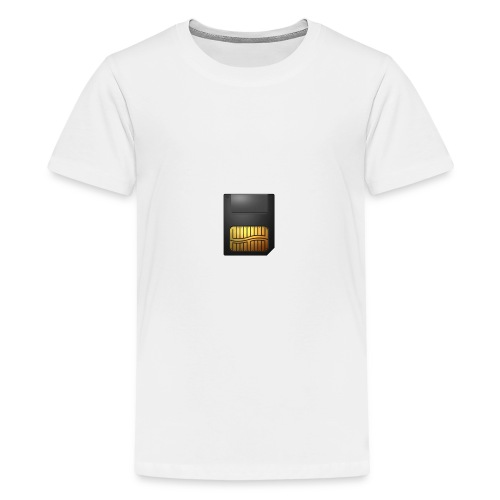 Speicherkarte - Teenager Premium T-Shirt