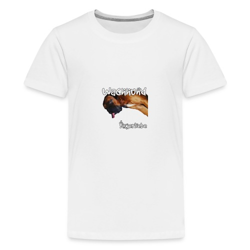 Wachhund Boxerliebe - Teenager Premium T-Shirt