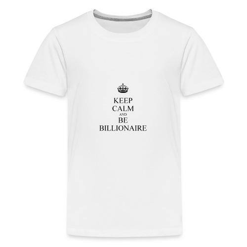 Keep Calm T shirt - Teenager Premium T-shirt