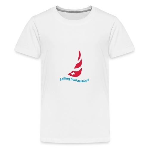 logo sailing switzerland - Teenager Premium T-Shirt