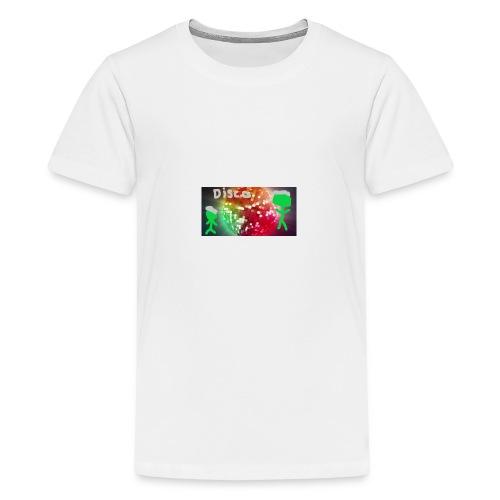 Disco-Confirmed - Premium T-skjorte for tenåringer