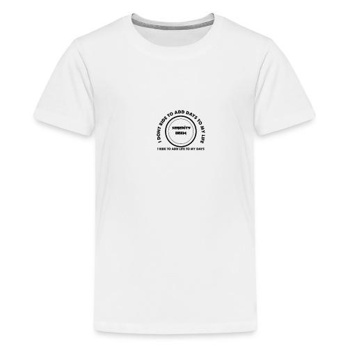 Serenity Crew Rider Quote - Teenage Premium T-Shirt
