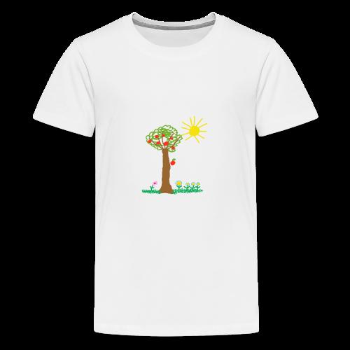 Der Frühling - Teenager Premium T-Shirt