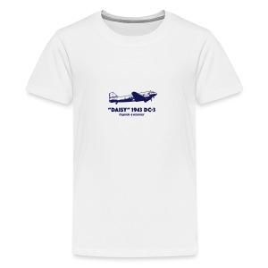 Daisy Flyby 1 - Premium-T-shirt tonåring
