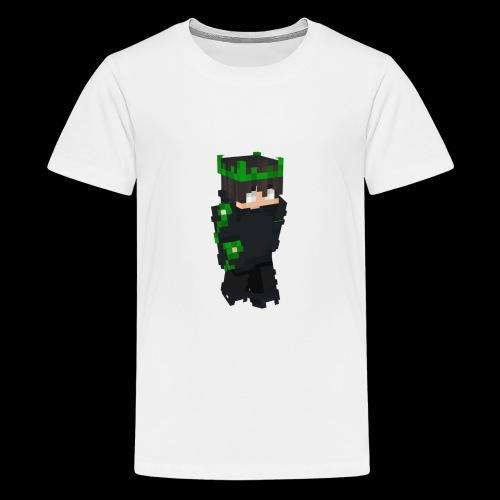 Mein Minecraft-skin - Teenager Premium T-Shirt