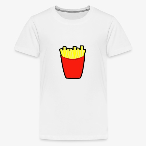 Pommes design - Teenager Premium T-Shirt