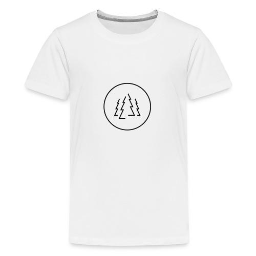 Schwarzwaldfilm im Kreis - Teenager Premium T-Shirt