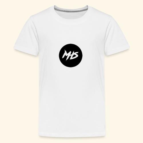 Watermerk - Zwart - Teenager Premium T-shirt