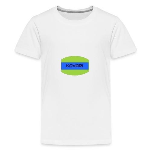 Kovari Logo - Teinien premium t-paita