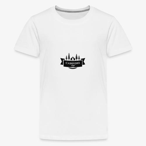 camping life - Camiseta premium adolescente