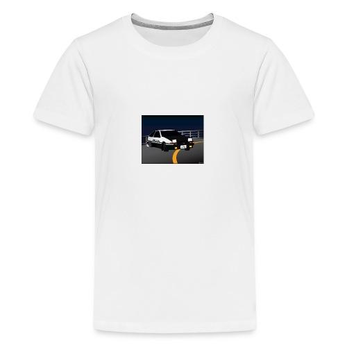 Initial D Drifting Akina - Teenager Premium T-shirt