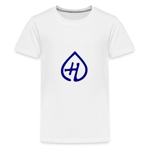 Hangprinter logo - Premium-T-shirt tonåring