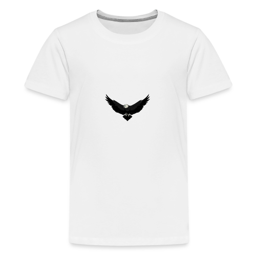 White BlackEagle Edition - Teenager Premium T-Shirt