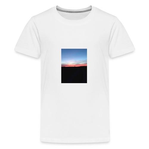 late night cycle - Teenage Premium T-Shirt