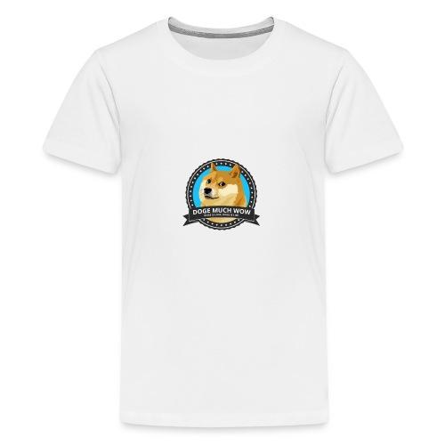 Doge merch - Teenager Premium T-shirt