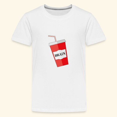 Mehr Hirn - Teenager Premium T-Shirt