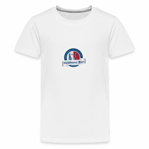 Neumann Bier - Hobbybrauer Leipzig - Teenager Premium T-Shirt