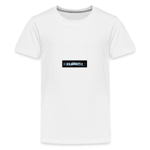 DerHardstyle.ch Kleines Logo - Teenager Premium T-Shirt
