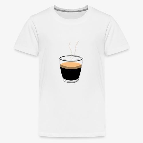 Coffee - T-shirt Premium Ado