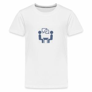 Business Meeting - Premium-T-shirt tonåring