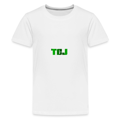 TGJ OFFICIAL LOGO - Teenager premium T-shirt