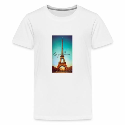 paris - Premium-T-shirt tonåring