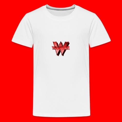 Warfare Logo Merch - Teenage Premium T-Shirt