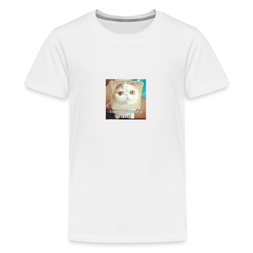 grappige kat - Teenager Premium T-shirt