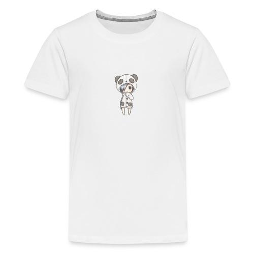 Cute girl panda - Teenage Premium T-Shirt