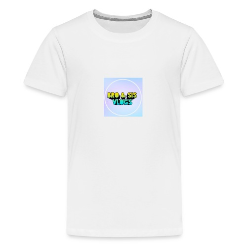 Bro & sis vlogs merch - Teenage Premium T-Shirt