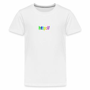 T-SHIRT Potocollo HTTP - Maglietta Premium per ragazzi
