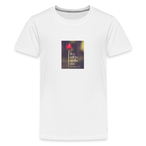 IMG 20180308 WA0027 - Teenage Premium T-Shirt