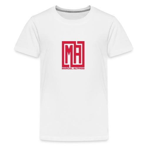 Marcel Neu neu Schwarz Einfach - Teenager Premium T-Shirt