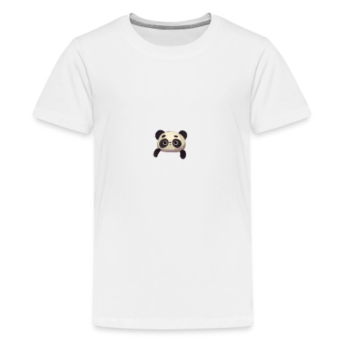 panda logo - Teenage Premium T-Shirt