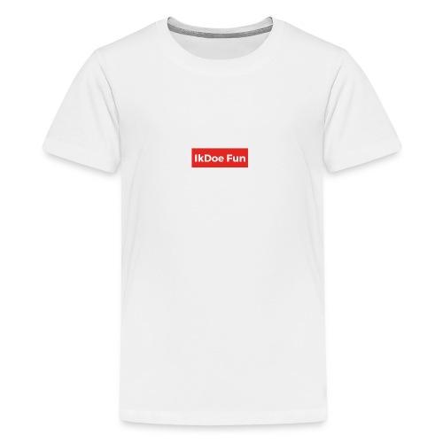IkDoe Fun Box Logo - Teenager Premium T-shirt