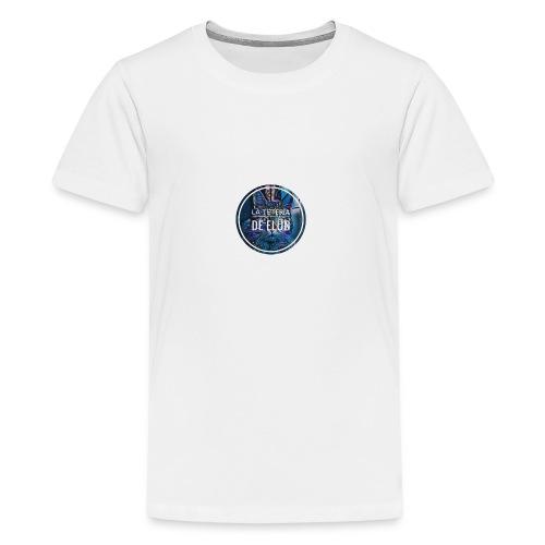 gato elun - Camiseta premium adolescente