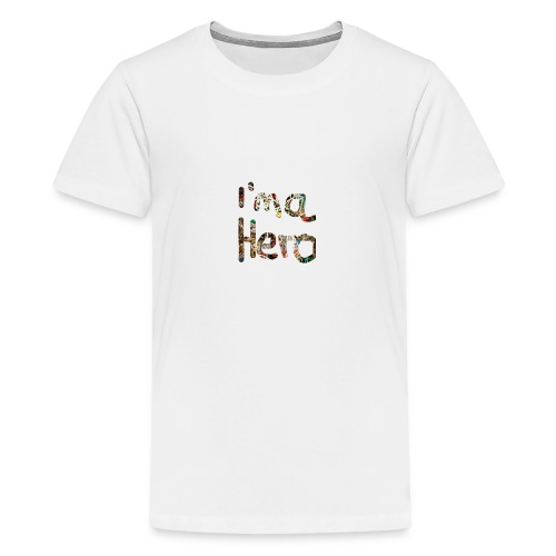 I'm aHero Grafitti - Teenager Premium T-Shirt
